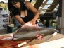 Filleting a Salmon