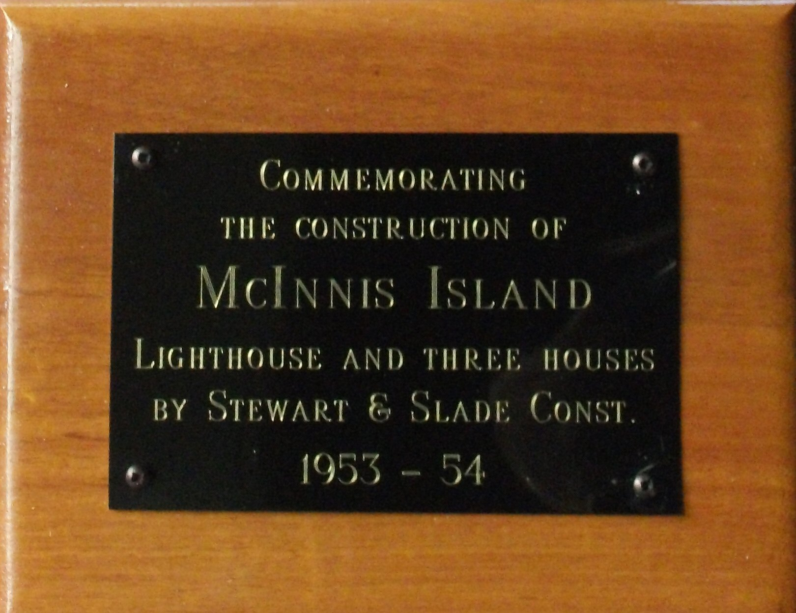 plaque
