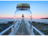 Marshall Point Lighthouse in a Mason Jar   Todd Burgess