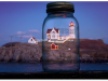 Nubble Lights in a Mason Jar   Todd Burgess