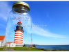 Quoddy Head Light in a mason jar   Todd Burgess