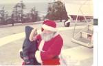 Graham & Santa – Dec 1977