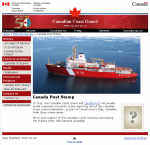 Canada Post Stamp   Canadian Coast Guard