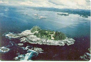 Price Island in the background