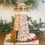 Build a Gingerbread Lighthouse   Coastal Living
