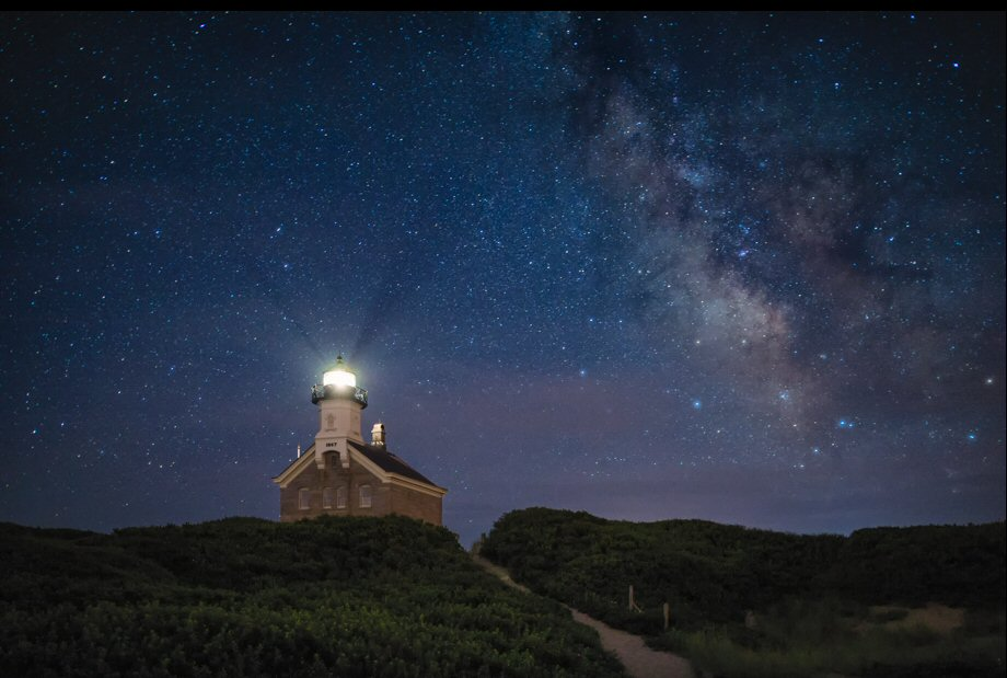 Night Photos and the Lighthouse | Lighthouse Memories
