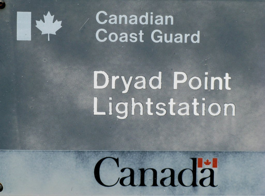 Dryad Point ID Sign