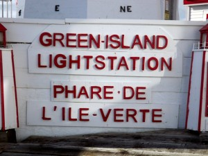 Lighthouse ID Sign