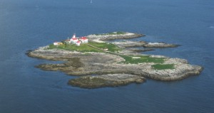 Green Island from the air at low tide