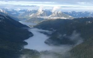 Inside Passage on the North Coast of BC