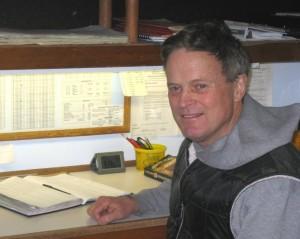 David F. Pearce at work