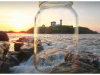 Nubble Lighthouse in a mason   Todd Burgess