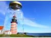 Quoddy Head Light in a mason jar   Todd Burgess