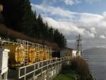 08 Lighttower and Diesel Tanks, Boat Bluff Lightstation